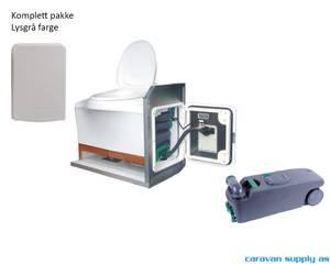 Bilde av SOG D til C400 dør lysgrå